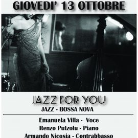 jazz for you italian swing jazz al cinema teatro trieste di milano