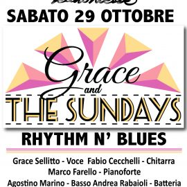 GRACE AND THE SUNDAYS al cinema teatro trieste di Milano